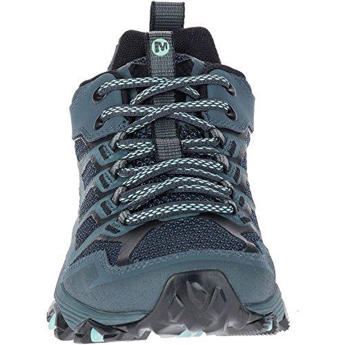 Merrell Moab Fst GTX, Chaussures de Randonnée Basses Femme Gris (Slate)