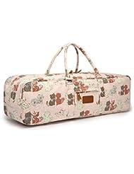 Bolsa para esterilla de yoga, 68,5 cm Duradera, suave, grande, bolsa para esterilla de yoga, bloques, toalla y otros accesorios - de Elenture, Pink Cat