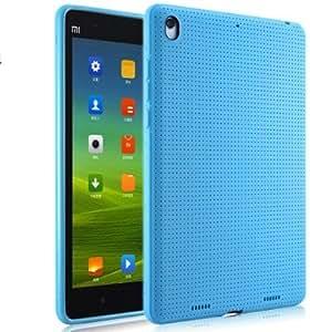 ProElite (TM) Soft Silicon Dotted Back Case cover for Xiaomi Mi Pad (Blue)