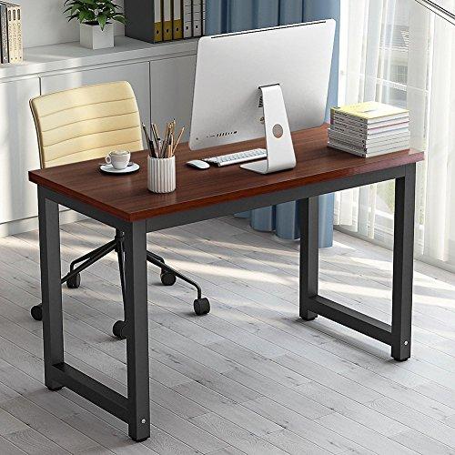 Tribesigns Moderner Schreibtisch Computertisch PC Tisch 25MM DICKE  Bürotisch Arbeitstisch Für Home Office Arbeitzimmer,Schreibtisch