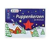 Ewa-Jeka Puppenkerzen rot 7x70 mm 40 Stück im Pack - Markenqualität