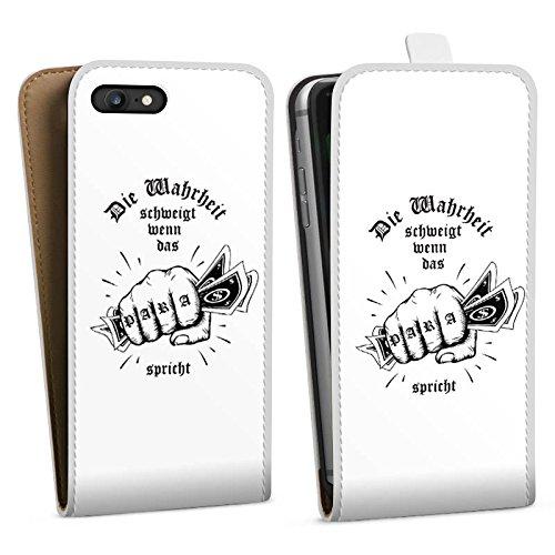 Apple iPhone X Silikon Hülle Case Schutzhülle Xatar Fanartikel Merchandise Die Wahrheit schweigt Downflip Tasche weiß