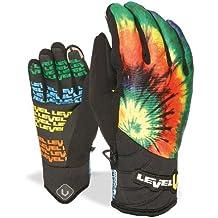 Level Handschuh Blade Runner - Guantes de esquí para hombre, color multicolor, talla 8