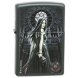 Zippo 60.000.450 Feuerzeug Anne Stokes Collection 5, schwarz matt