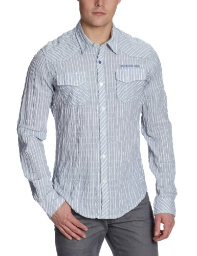 Calvin Klein Men's Striped Casual Shirt