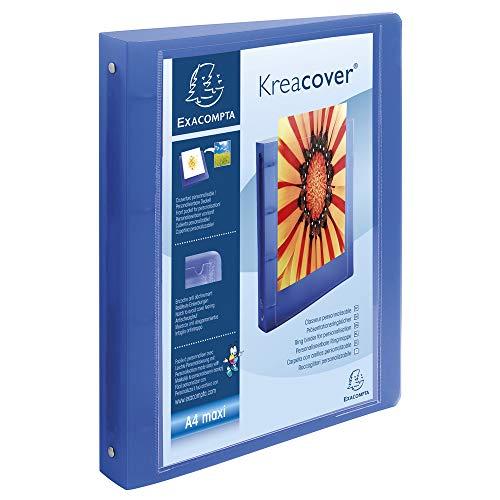 gbuch (Festem Chromaline, Krea Cover, PP 1000µ, 4 Ringe, Rücken 40 mm, DIN A4) zufällige Farbe ()