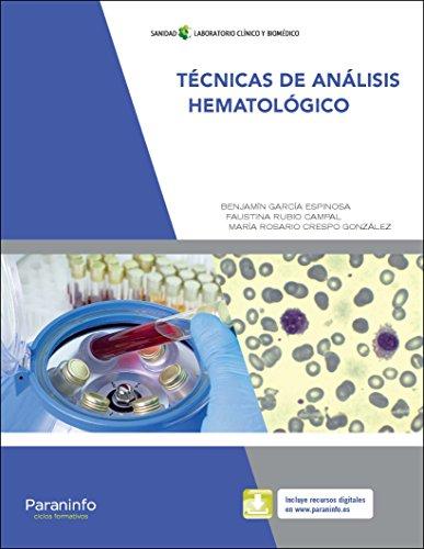 Técnicas de análisis hematológicos por MARÍA ROSARIO CRESPO GONZÁLEZ