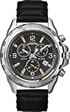 Expedition Men's Quartz Watch with Dial Chronograph Display and Leather Strap T49985