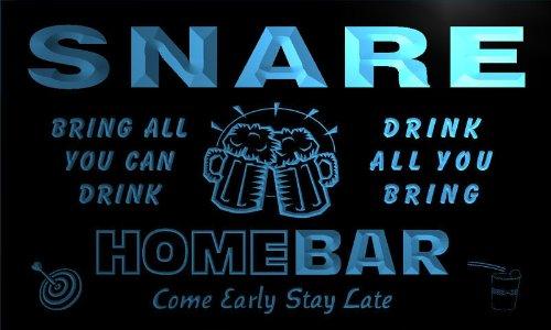 q42027-b-snare-family-name-home-bar-beer-mug-cheers-neon-light-sign