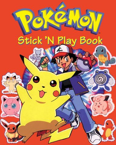 Pokemon Stick N Play Book with Sticker: 2 (Pok�mon Stick 'n' Play Book) by Pokemon Artists (1-Oct-2001) Board book