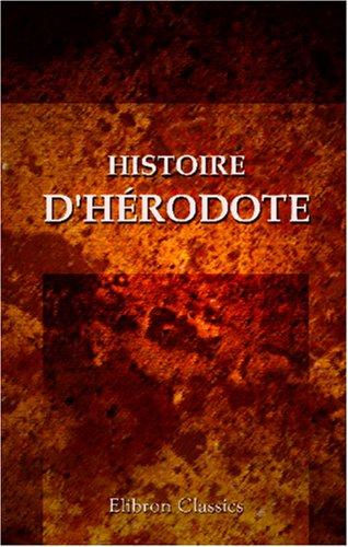 Histoire d'Hrodote
