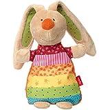 Sigikid 38638Cojín de calor Rainbow Rabbit, multicolor