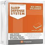Die original Sleep Defense System–PREMIUM Reißverschluss Bett Bug & staubmilbengeschützt Box Spring umgreifung und hypoallergen Displayschutzfolie