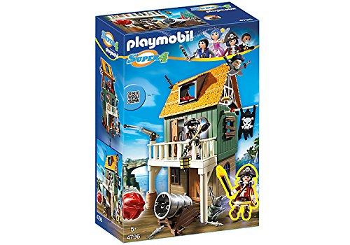 playmobil-4796-super4-fort-des-pirates-camoufle-avec-ruby