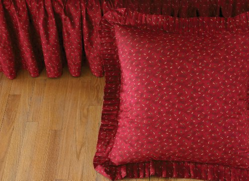 donna-sharp-chesapeake-cotton-queen-gathered-bedskirt-rooster-red