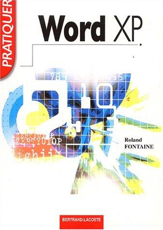 Pratiquer Word XP
