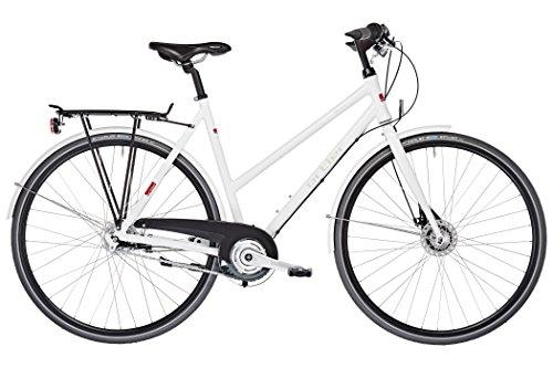 Ortler Motala Damen weiß glanz Rahmengröße 54 cm 2017 Cityrad