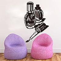 HCCY Adhesivo de pared autoadhesivas de esmalte de uñas pegatinas para uñas adhesivo pared tienda salón
