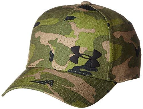 Armour Under Camo Golf (Under Armour Herren Caps / Flexfitted Cap AirVent grün L/XL)