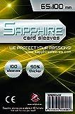 100 Sleeves Sapphire 7 WONDERS 65x100 Bustine Protettive x Giochi da Tavolo