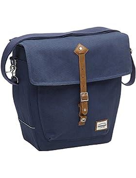 New Looxs Genova Tasche, Canvas-Stoff, wasserabweisend, Blau, 14l Fassungsvermögen