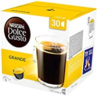 NESCAFÉ Dolce Gusto Grande Coffee Pods, 30 Capsules (30 Servings)