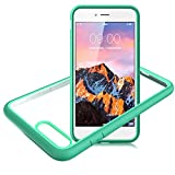 Slynmax Coque iPhone 8 Plus Vert 7 Plus/8 Housse Stylo Tactile Luxe Transparente...