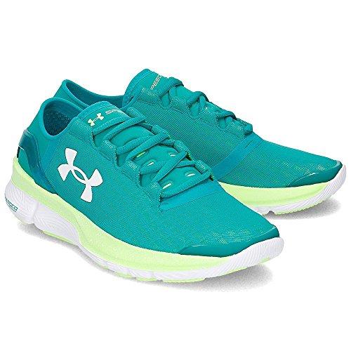 de forme Under Armour–Speed Bleu Course Chaussures Femme pour Turbulence aq5v75cI