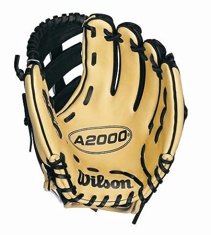 Wilson stärkt Dual Post Web Handschuh mit Super Haut, 12Zoll