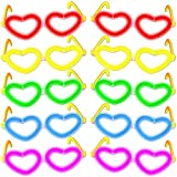 10X Occhiali da Cuore–Mix di colori