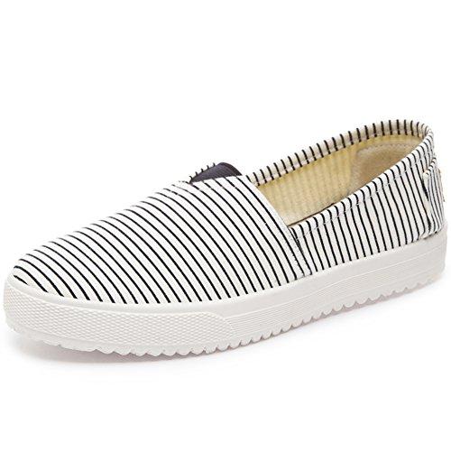 Traditionelles beijing tuch schuhe/ein fußschalter/slipper/air flat bottom schuhe/canvas schuhe/-X Fußlänge=22.3CM(8.8Inch) (Schuhe Multi Canvas)