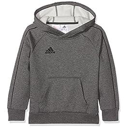 Adidas Core18 Hoody Felpa Unisex Bambini