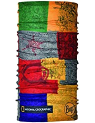 Buff National Geographic - Pañuelo multifuncional tubular, unisex