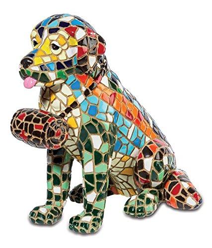 Katerina Prestige–Figurine Saint Bernard Mosaic mo0533