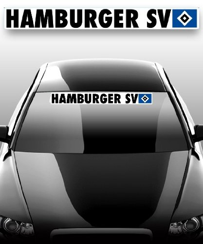 Hamburger SV Autoaufkleber groß 78 x 9 cm