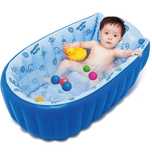 LIVY Aufblasbare Babybadewanne König verdickt grün Schüssel Kinder Kind Bad