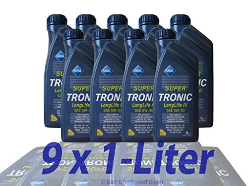 Aral SuperTronic Longlife III 5W-30 Super Tronic Motor-Öl Motoren-Öl