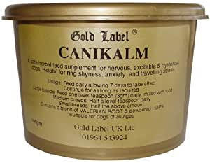 Gold Label Canikalm Daily 100g - Dog clamer suitable for long term use. Calms hyperactivity & anxiety with out sedation