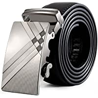 Cintura Uomo,WINWINTOM Cinture In Pelle Fibbia Automatica