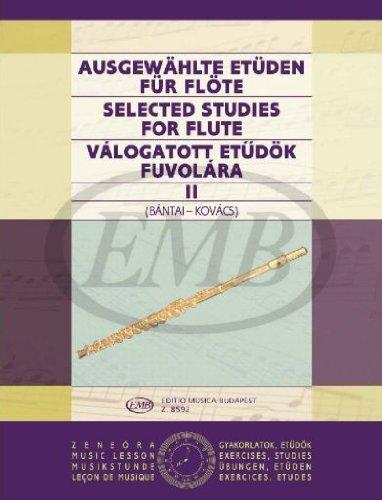 Selected Studies 2 for flute par Kovacs G.