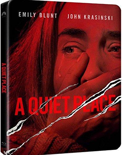 Preisvergleich Produktbild A Quiet Place [Blu-ray] [Steelbook] English,  French,  German,  Spanish,  Italian,  Hungarian,  Polish,  Russian,  Thai