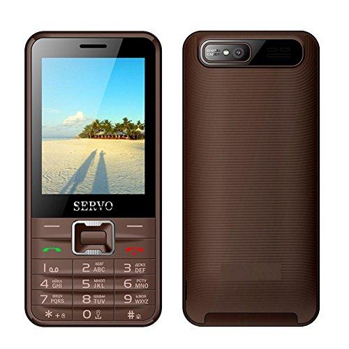 Mobiltelefon Gerade 2,8 Zoll 4 SIM-Karte 4 Standby Bluetooth Taschenlampe MP3 MP4 GPRS Großer Bildschirm Lange Standby , brown (english edition)