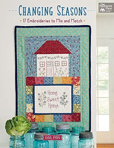Changing Seasons: 17 Embroideries to Mix and Match (English Edition)