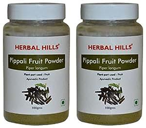 Herbal Hills Pippali Fruit Powder - 100g each (Pack of 2)