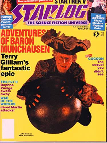 Starlog Magazine The Sci Fi Comics: April 1989 (English Edition)
