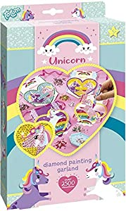 Totum 71056 - Kit Creativo de Pintura con Diamantes de imitación, diseño de Unicornio, Multicolor