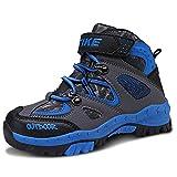 Scarpe da Escursionismo Outdoor Multisport Stivali da Neve Scarpe da Arrampicata Unisex Bambino