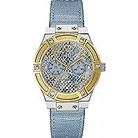 Guess W0289L2 - Reloj de pulsera para mujer, color blanco/plata de Guess