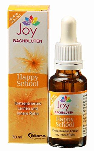 Happy School - Bachblüten Komplexmittel, 20 ml Stockbottle