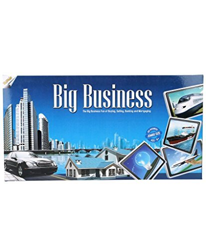 Ratna\'s Big Business Monopoly Board Game with Plastic Money